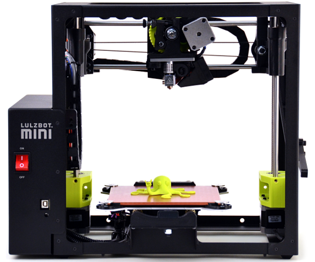 Picture of an Lulzbot Mini 3d Printer