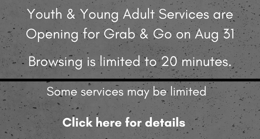 Youth Services & Young Adult Opening